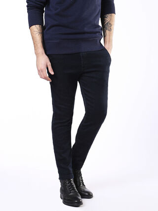 SLIM-CHINO-M JOGGJEANS 0680F, Dark Blue