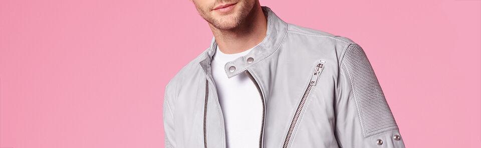 Shop Men's Leather Jackets