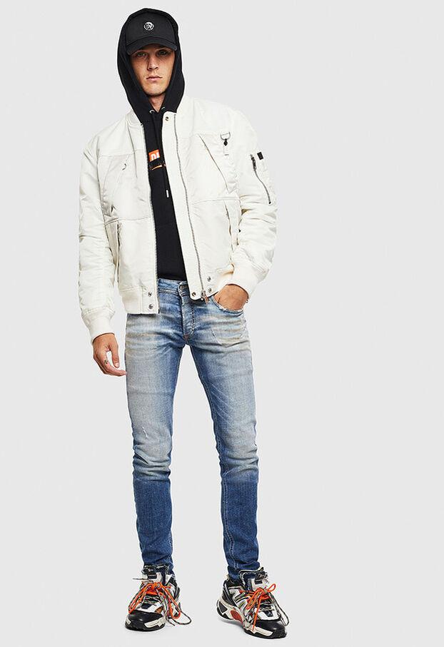 Sleenker 009AF, Medium blue - Jeans