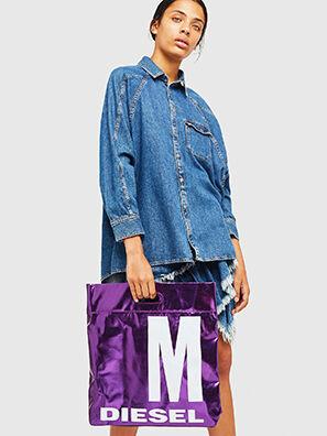 F-LITT-HER M, Violet - Shopping and Shoulder Bags