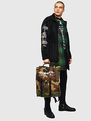VOLPAGO BACK, Green Camouflage - Backpacks