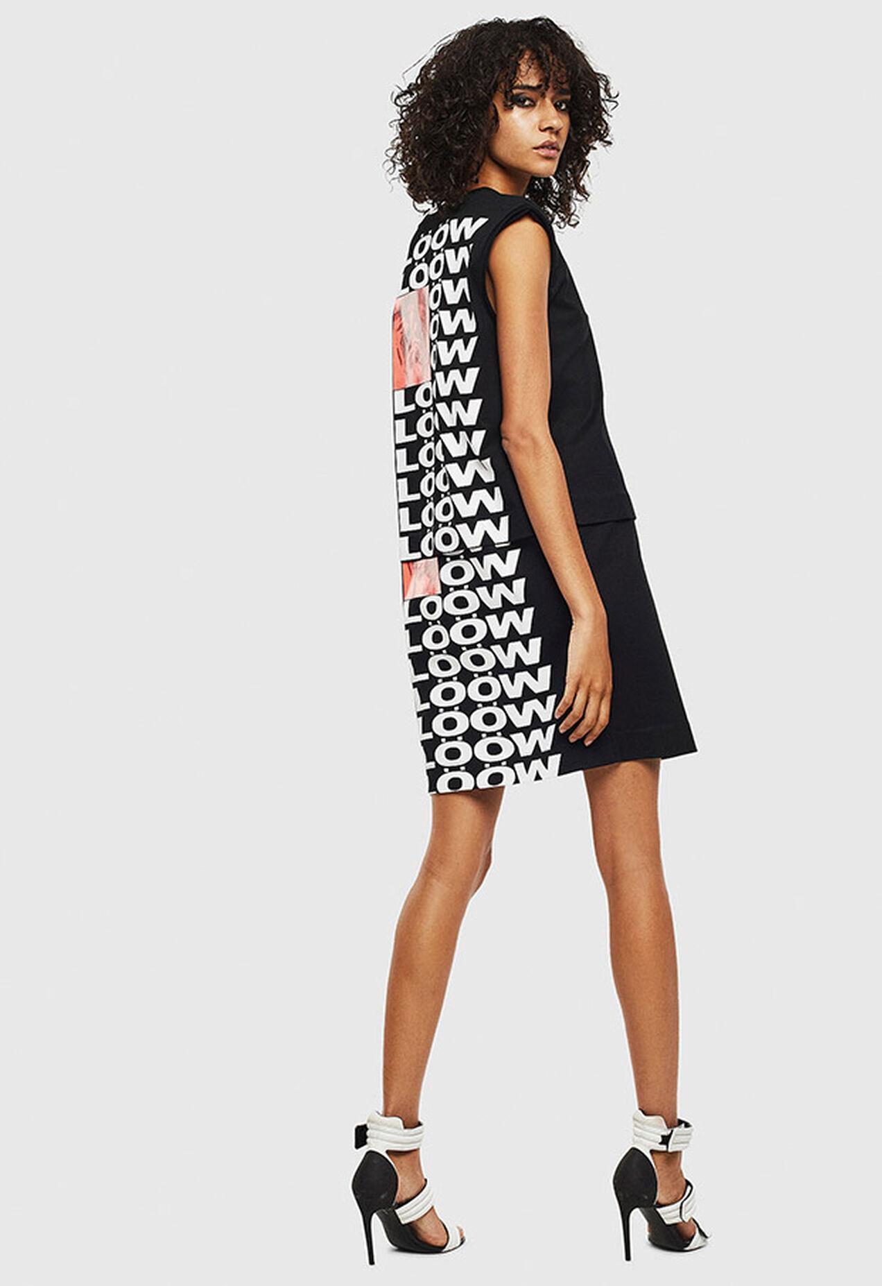 D-HATTER, Black/White - Dresses