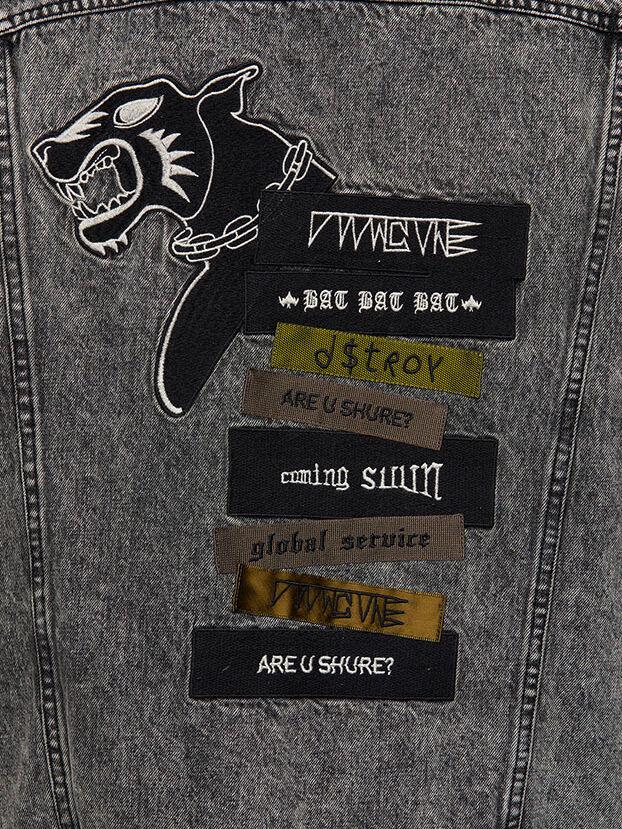 D-DESTROY-SP, Grey/Black - Winter Jackets