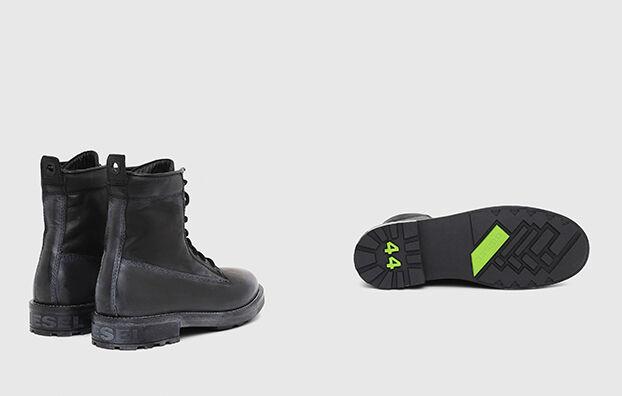 D-THROUPER DBB, Black - Boots