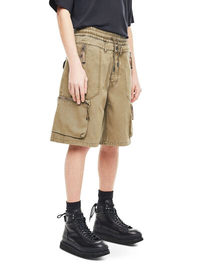 Diesel - PHILOS, Military Green - Shorts - Image 3
