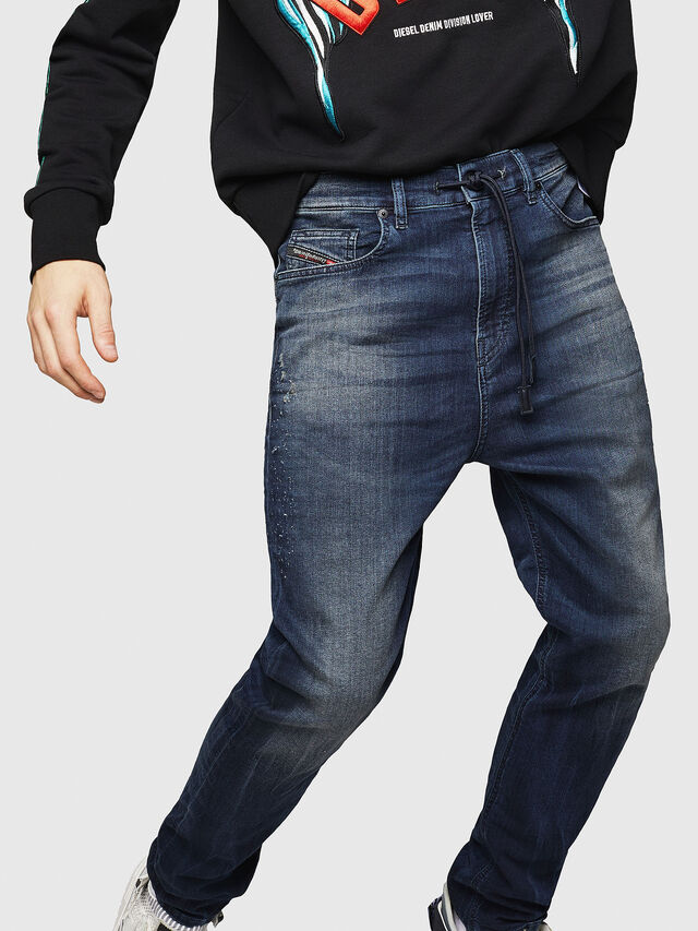 Diesel - D-Vider JoggJeans 069HV, Medium blue - Jeans - Image 4