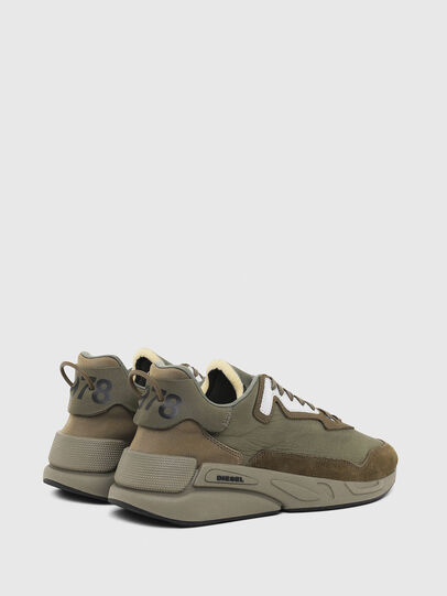 Diesel - S-SERENDIPITY LC, Olive Green - Sneakers - Image 3