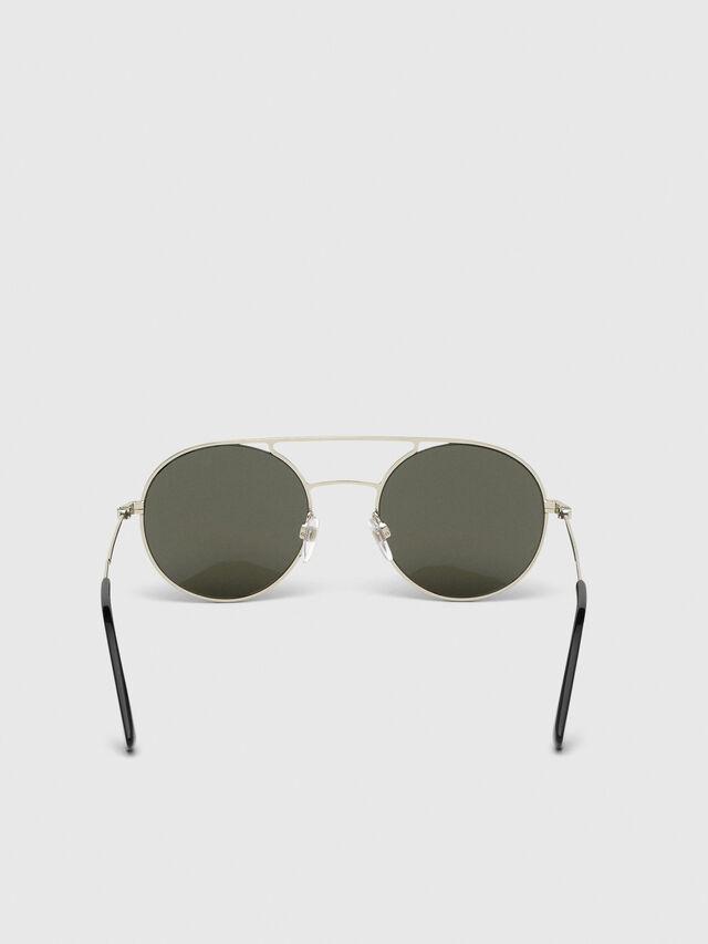 Diesel - DL0301, Black/Gold - Sunglasses - Image 4