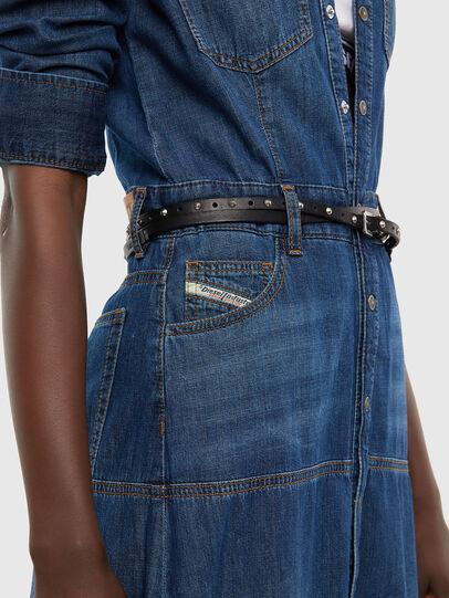 Diesel - DE-JOANNY, Medium blue - Dresses - Image 5