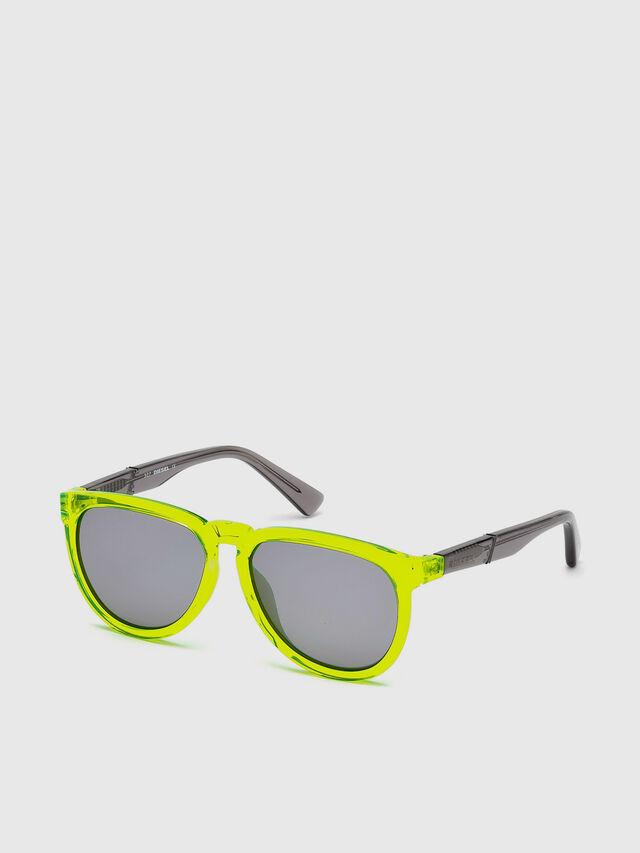 Diesel - DL0272, Yellow Fluo - Kid Eyewear - Image 2