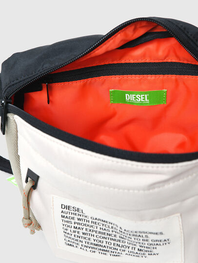 Diesel - LOKI, White/Orange - Crossbody Bags - Image 4