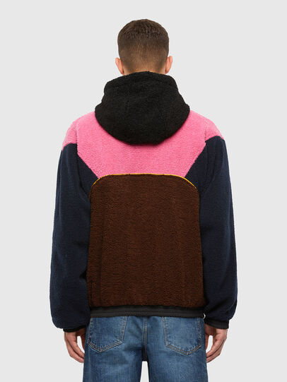 Diesel - W-ETHAN, Blue/Pink - Winter Jackets - Image 2