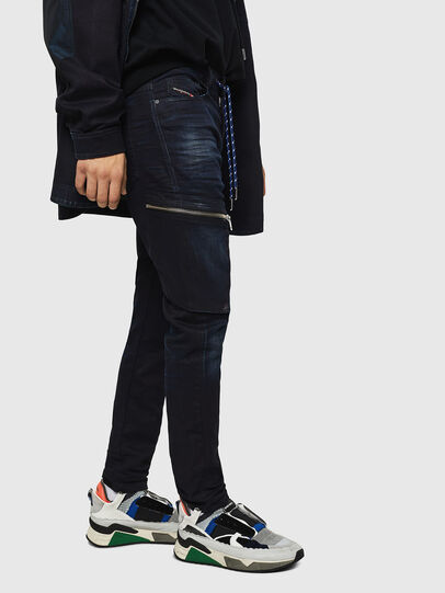Diesel - D-Vider JoggJeans 069IC, Dark Blue - Jeans - Image 5