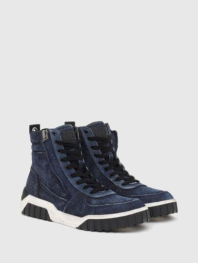 Diesel - S-RUA MID, Blue - Sneakers - Image 2