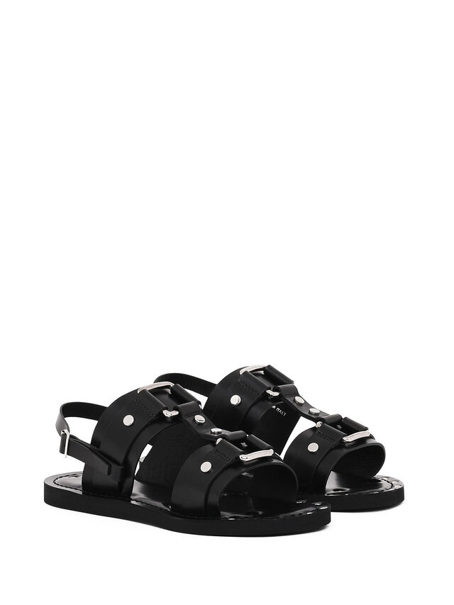 Diesel - SS19-5, Black - Sandals - Image 2