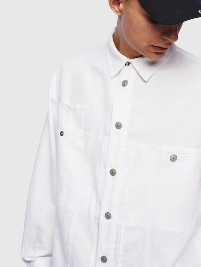 Diesel - D-FLOX,  - Denim Shirts - Image 4