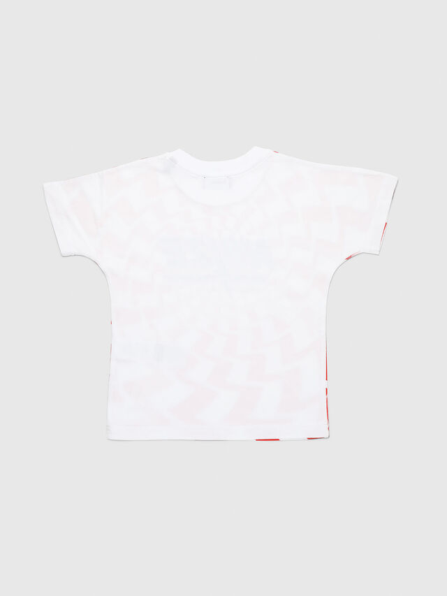 Diesel - TRUCCIB-R, White/Red - T-shirts and Tops - Image 2