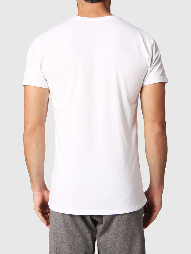 Diesel UMTEE-MICHAEL2PACK, White - Tops - Image 3
