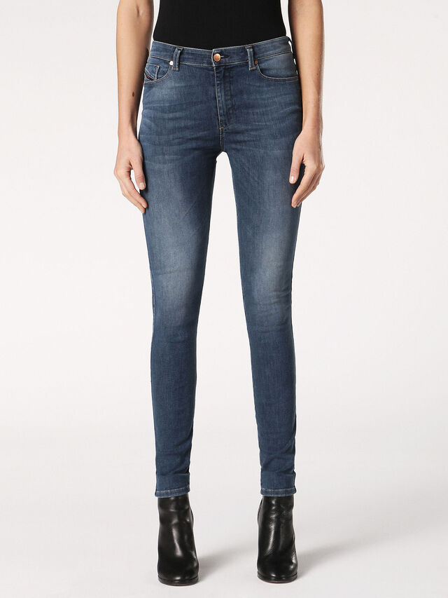 SKINZEE-HIGH 084RY, Blue jeans