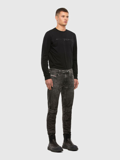 Diesel - T-DIEGOS-LS-X5, Black - T-Shirts - Image 4
