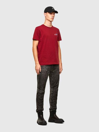 Diesel - T-DIEGOS-K36, Brown - T-Shirts - Image 4