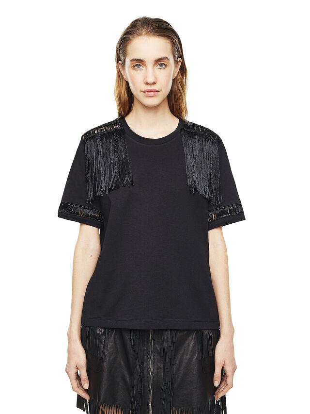 Diesel - TREENA, Black - T-Shirts - Image 1