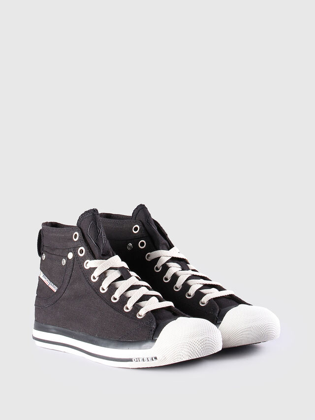 Diesel EXPOSURE W, Black/White - Sneakers - Image 2