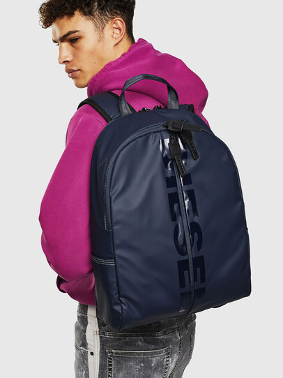 Diesel - BOLD BACK II, Dark Blue - Backpacks - Image 8
