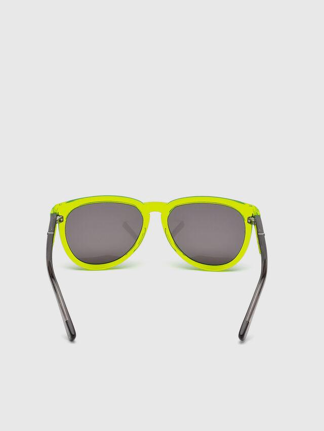 Diesel - DL0272, Yellow Fluo - Kid Eyewear - Image 4