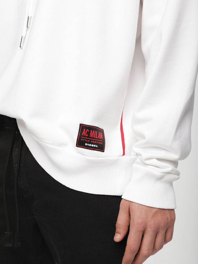 Diesel - DVL-SIZIP-CAPSULE, White - Sweaters - Image 5