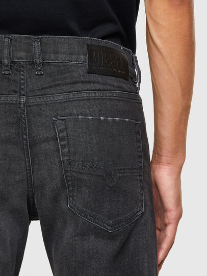 Diesel - Tepphar 082AS, Black/Dark grey - Jeans - Image 4