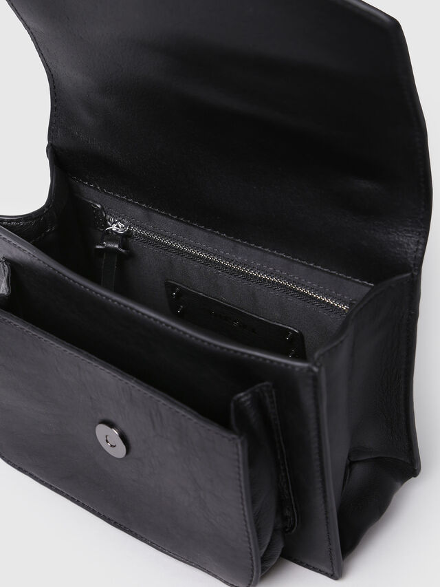 Diesel - MISS-MATCH CROSSBODY, Anthracite - Crossbody Bags - Image 4