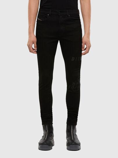 Diesel - D-Istort 069QT, Black/Dark grey - Jeans - Image 1