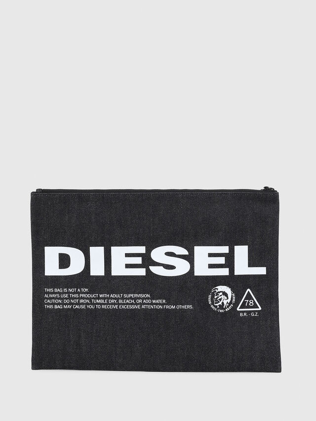 Diesel - LUSINA II, Blue Jeans - Continental Wallets - Image 2