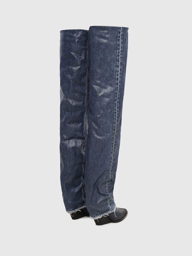 Diesel - D-WEST OTK, Blue Jeans - Boots - Image 3