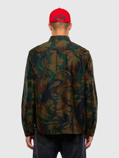 Diesel - S-JESSY-DES, Military Green - Shirts - Image 2