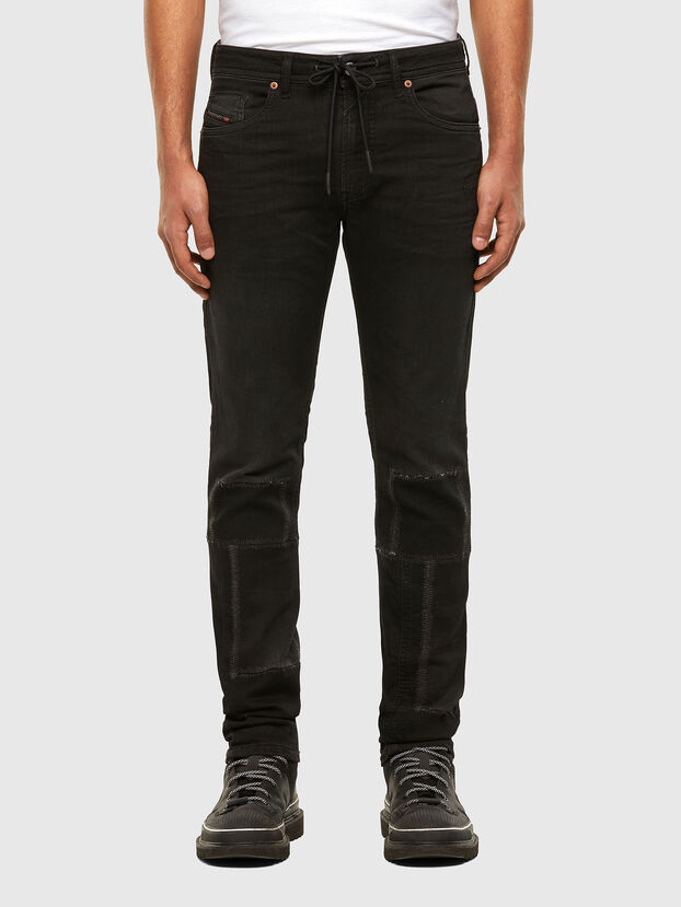 Thommer JoggJeans 009IC, Black/Dark grey - Jeans