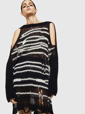 M-VANIX, Black/White - Knitwear