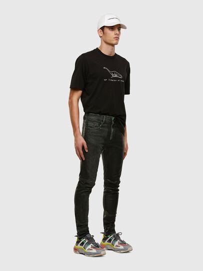 Diesel - D-Strukt 009DU, Black/Dark grey - Jeans - Image 6