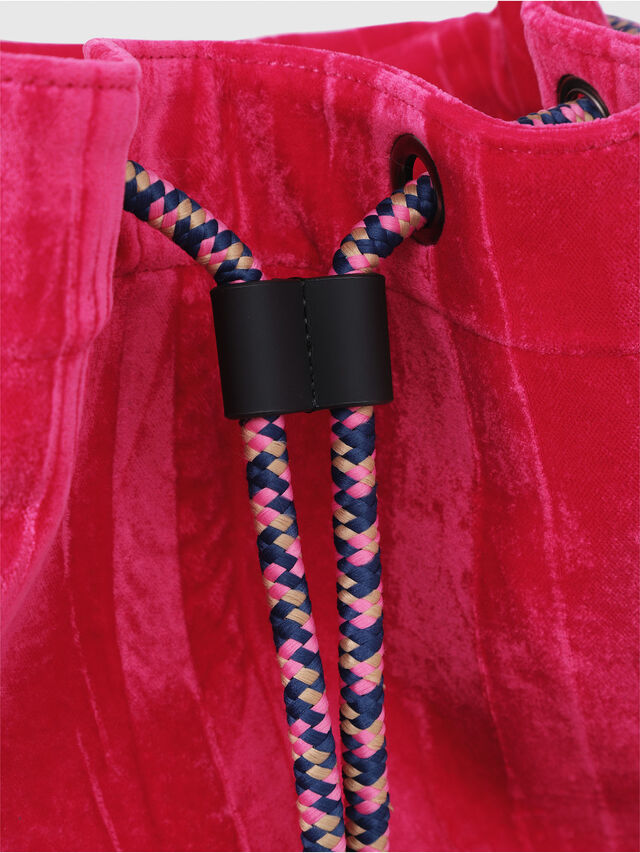 Diesel - F-MUSILE BACKPACK, Pink Fluo - Backpacks - Image 4