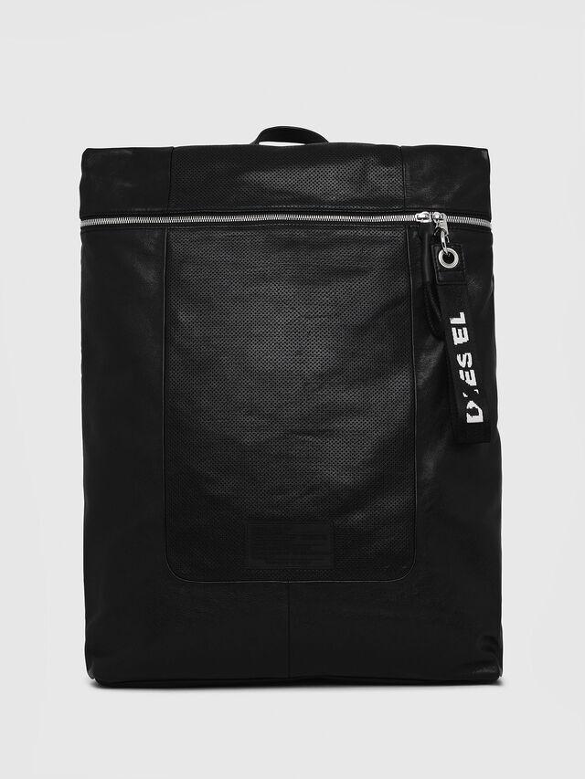 Diesel - L-TOLLE BACK, Black - Shopping and Shoulder Bags - Image 1