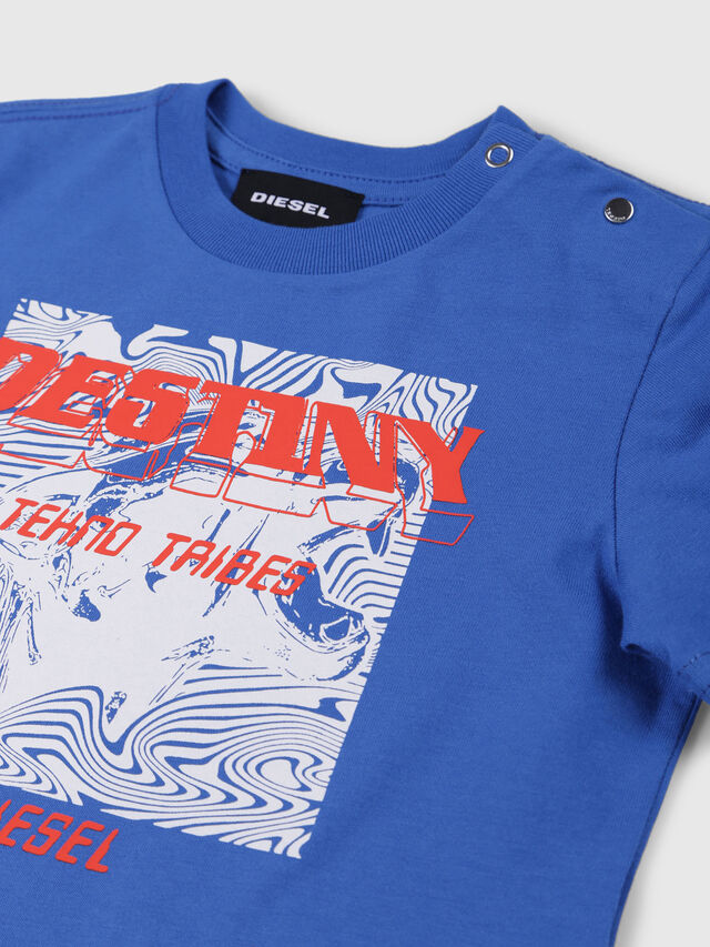 Diesel - TARRYB, Cerulean - T-shirts and Tops - Image 3