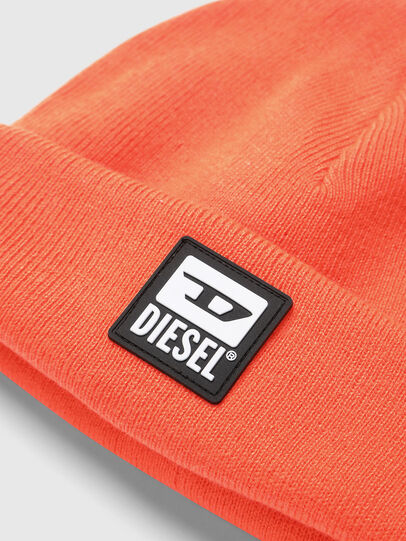 Diesel - K-XAU, Orange - Knit caps - Image 3
