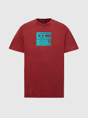 T-DIEGOS-N31, Red - T-Shirts