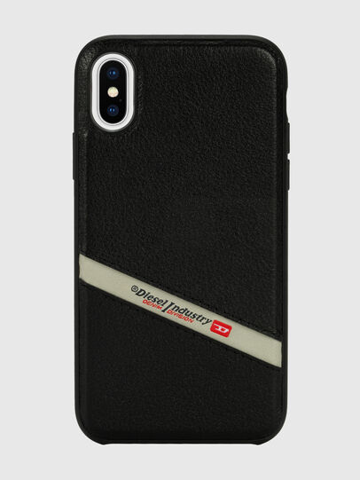 Diesel - DIESEL LEATHER CO-MOLD CASE FOR IPHONE XS & IPHONE X,  - Cases - Image 2