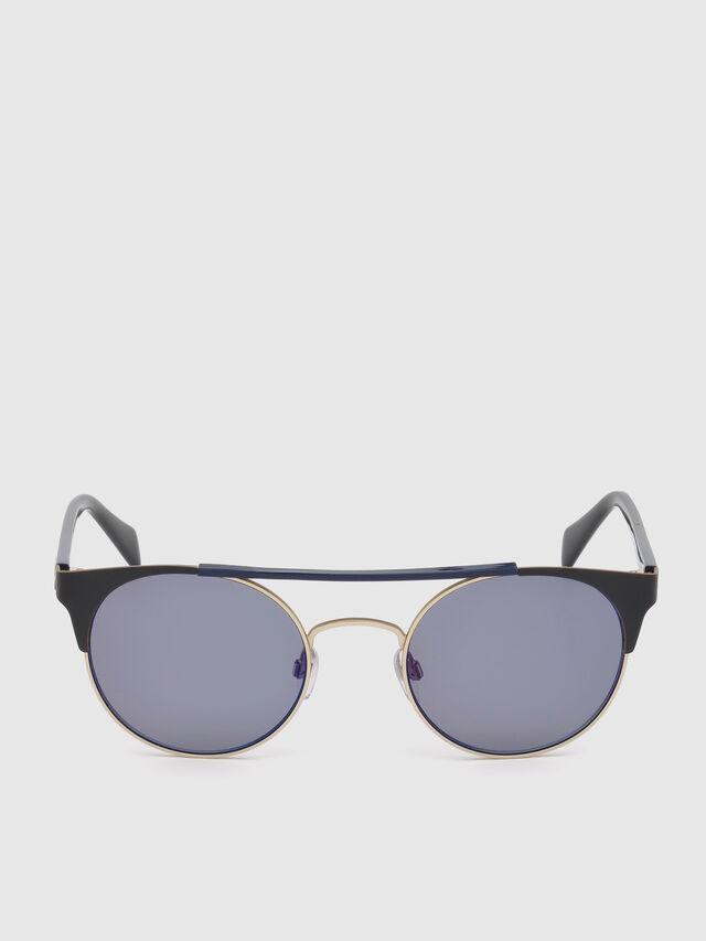 Diesel - DL0218, Black/Blue - Eyewear - Image 1