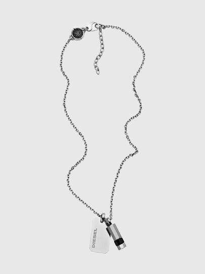 Diesel - DX1156, Silver - Necklaces - Image 1