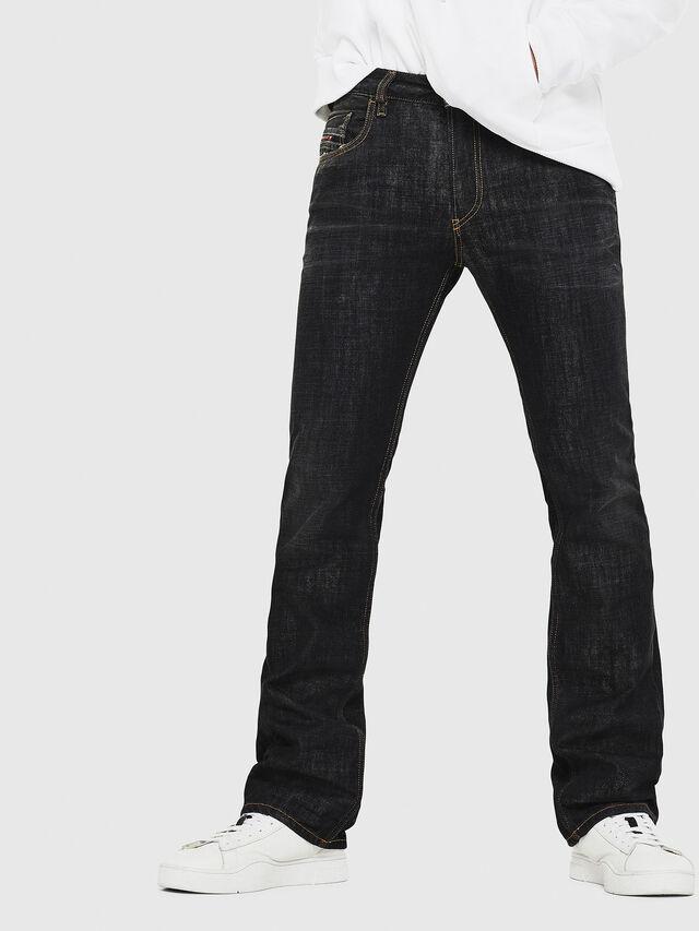 Diesel - D-Ligenz 8880W, Black/Dark grey - Jeans - Image 1