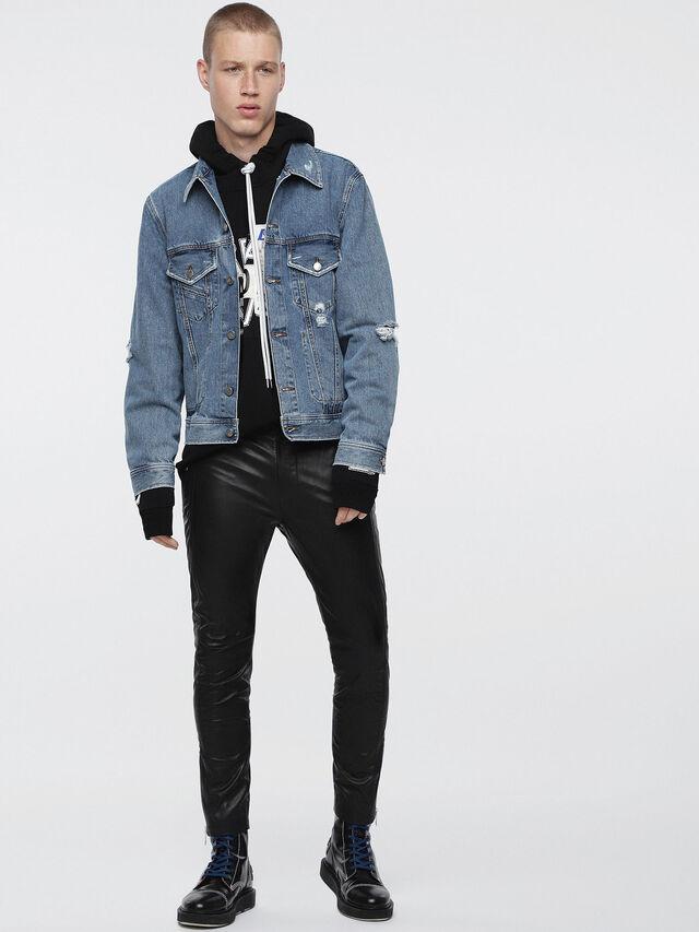 Diesel D-ROBYN, Blue Jeans - Denim Jackets - Image 4