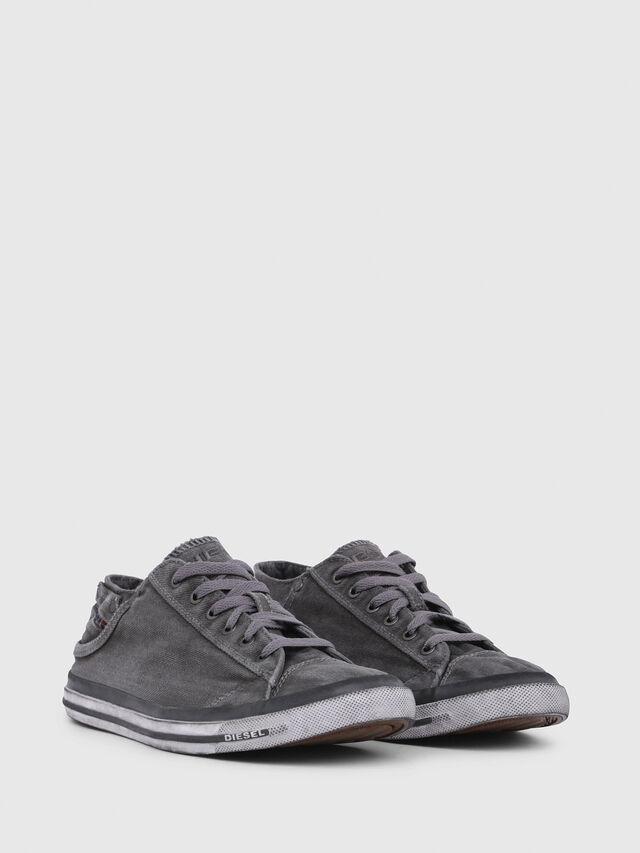 Diesel - EXPOSURE LOW I, Metal Grey - Sneakers - Image 2